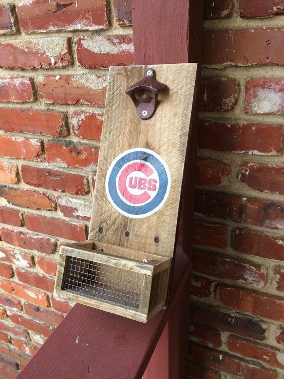 Chicago Cubs Inspired Personalized Bar Sign By