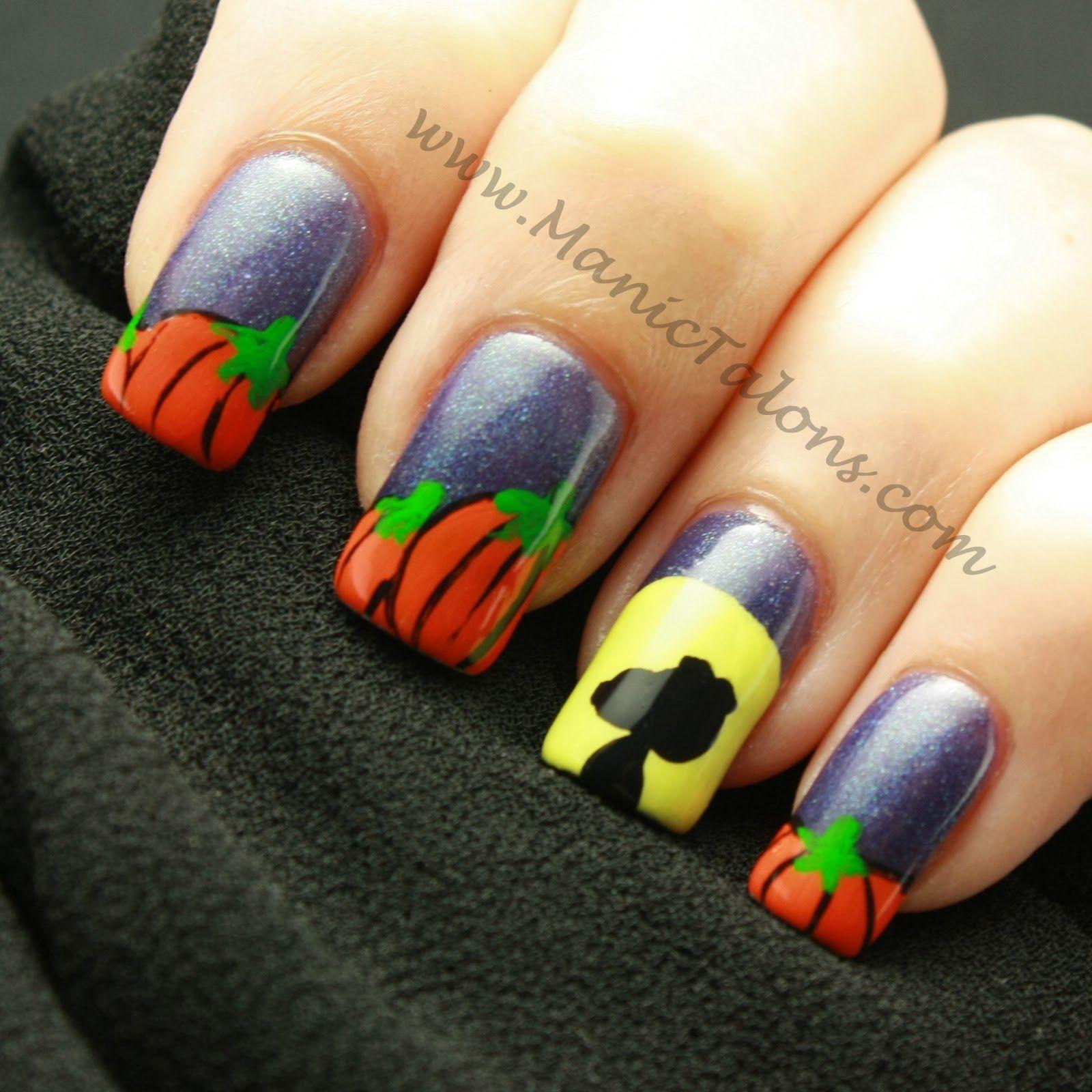 Great Pumpkin Nail Art | Favorite things in general | Pinterest ...
