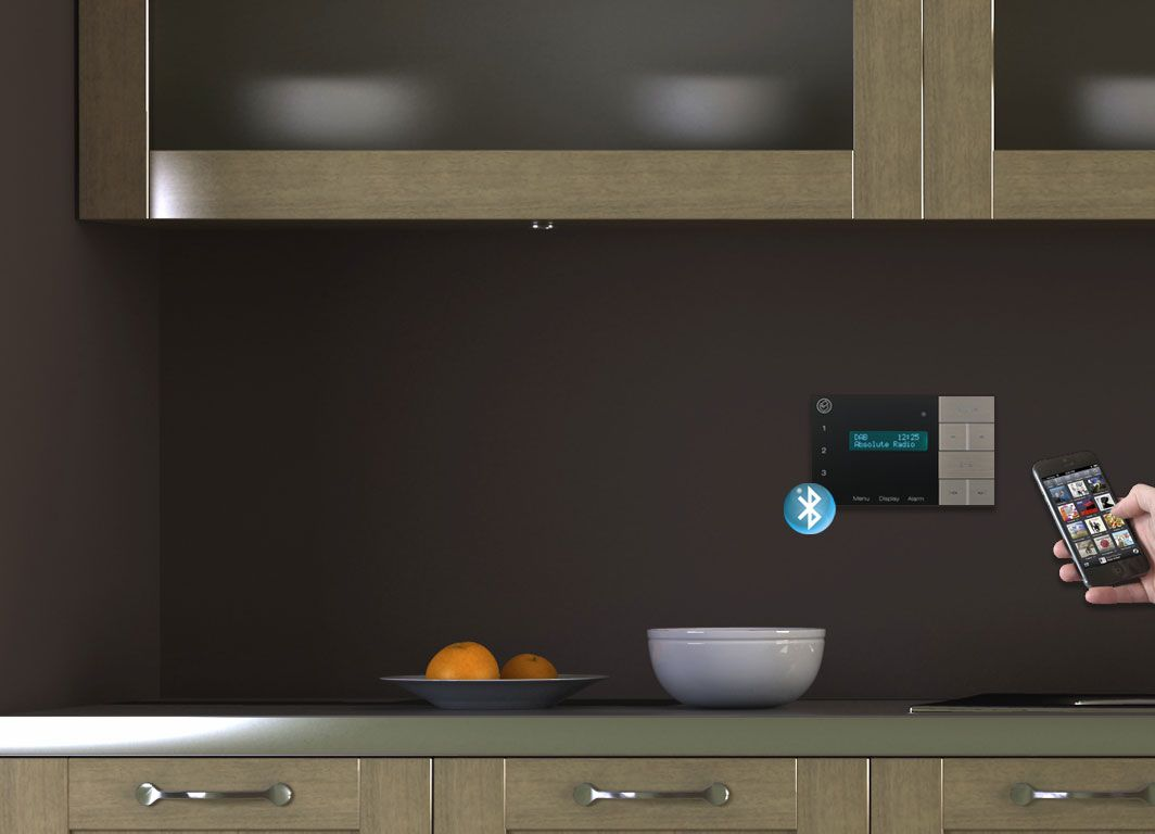 CLB AVID In Wall Bluetooth Amplifier With Ceiling Speaker, Ideal Solution  For Streaming Music In Your Home.