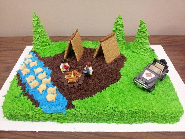 Tallest Boy Scout Cake Ideas
