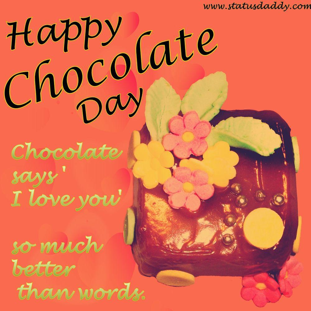 Happy Chocolate Day 667657 Happy Chocolate Day Happy Chocolate Day Images Happy Chocolate Day Wishes