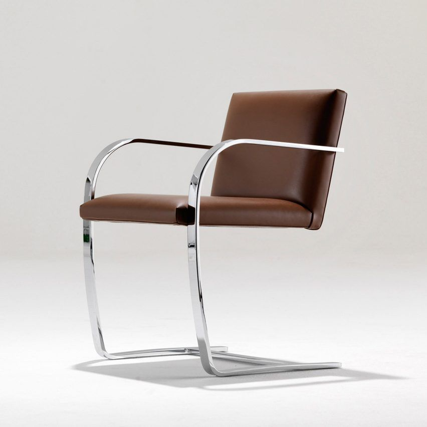 The Brno Chair, designed by modernist architect Ludwig Mies van