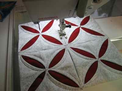A cathedral window quilt is not the same as a traditional quilt ... : cathedral window quilting - Adamdwight.com