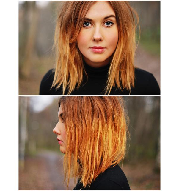 Outgrown bob hairstyles