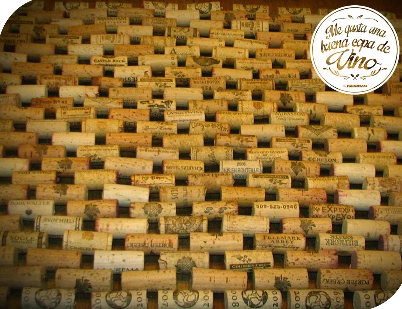 Un tapete ir perfecto en el ba o hecho de corchos de vino podr s disfrutar de un paso para - Alfombra de corchos ...