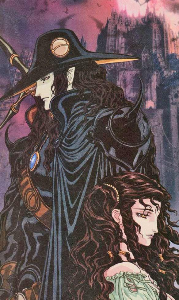 vampire hunter d charlotte artwork
