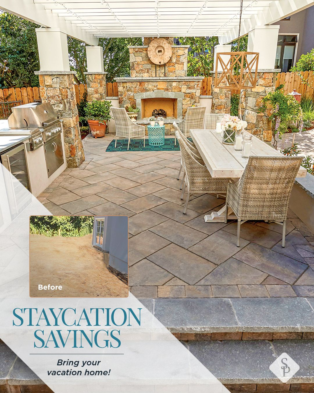 Bring Your Vacation Home In 2020 Backyard Patio Designs Romantic Backyard Backyard Patio