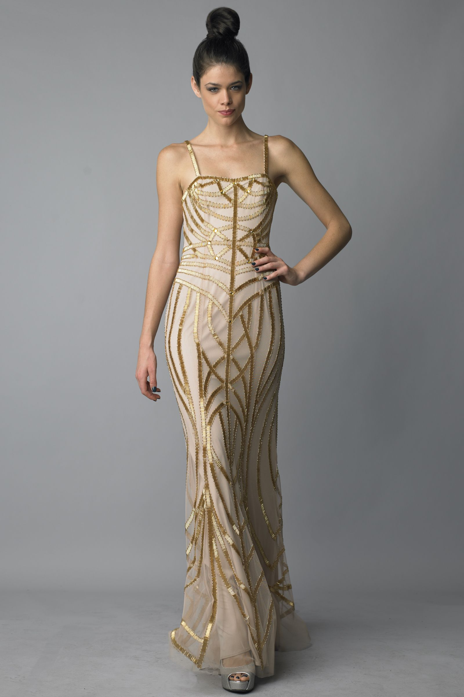More details about Images of Gold Evening Dresses - Klarosa ...