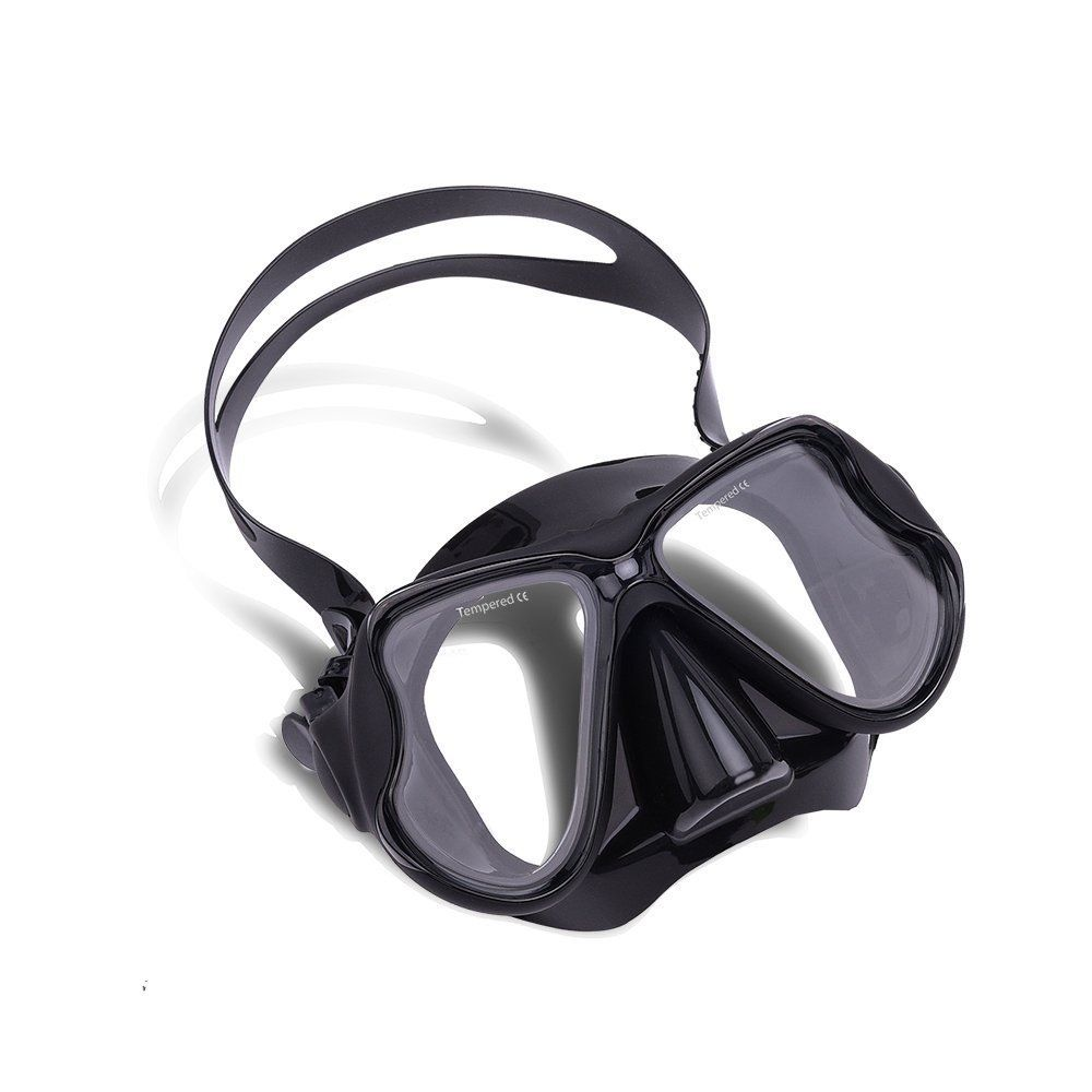 Wolfwill Fulldry Goggle Diving Snorkel Set