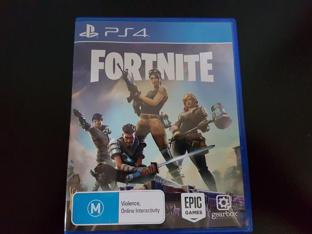 Fortnite Ps4 Physical Disc Rare Aus Pal Fortnite Australia Game