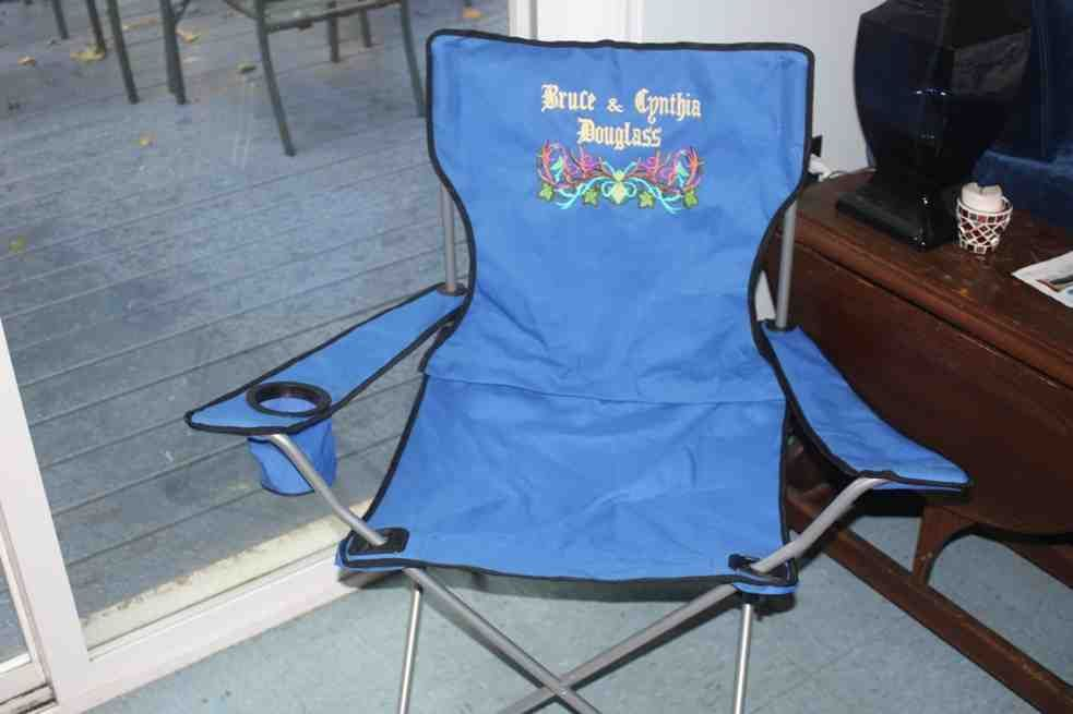 folding chair embroidered stackable garden covers chairs