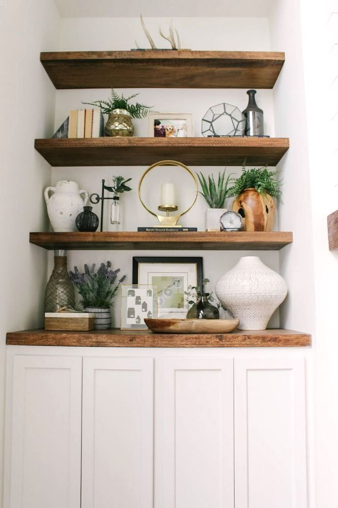 DIY Projects And Ideas For Farmhouse Shelves - Worth ...