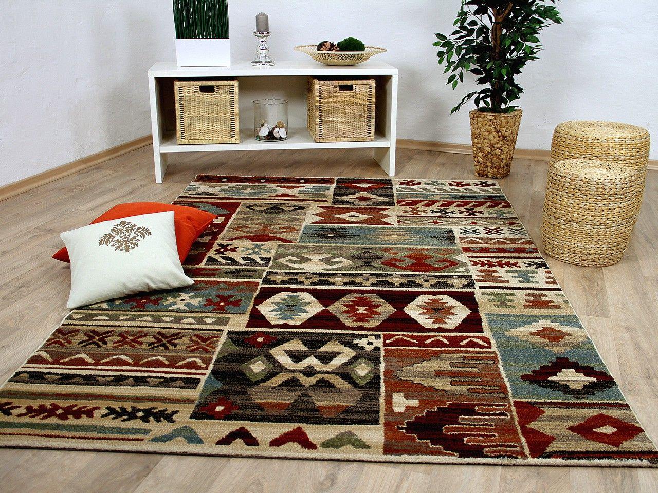 Designer Teppich Sevilla Klassik Ethno Bunt Teppiche Designerteppiche  Sevilla Teppiche