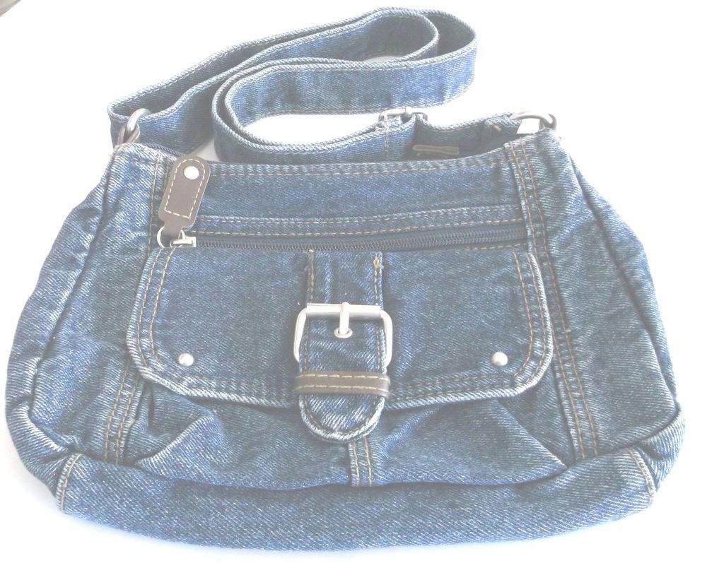Purse Handbag Jeans Shoulder Strap Joe Boxer  #JoeBoxer #ShoulderBag