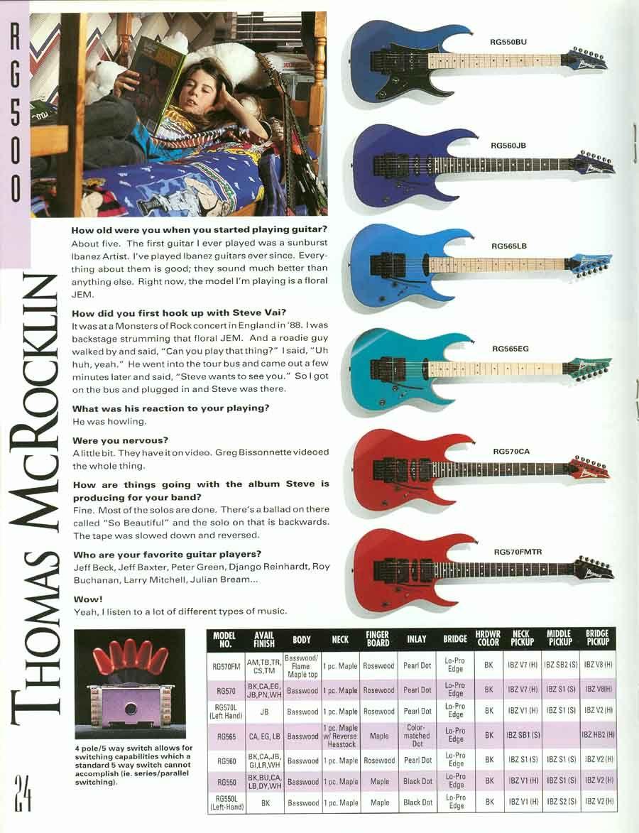Thomas McRocklin - http://www.ibanezrules.com/catalogs/us/1992 ...