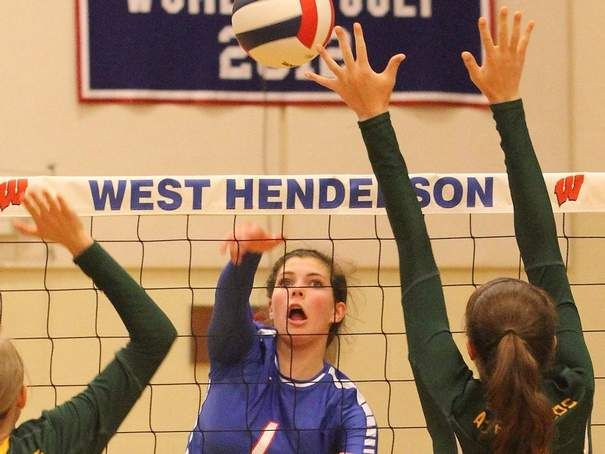 West Volleyball Dominant In Season Opener Prep Sports Dominant Volleyball