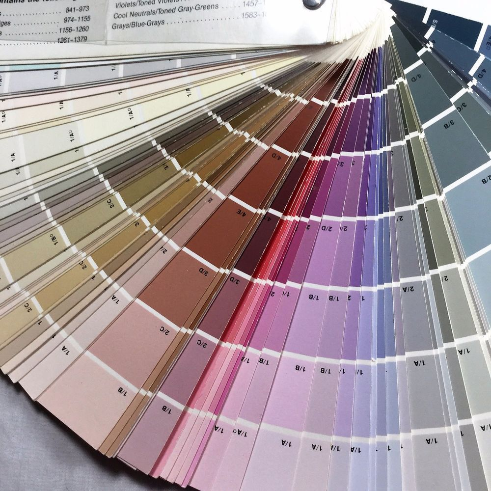 Benjamin Moore Paint Color Fan Deck Professional Swatch Colors Book Guc Benjaminmoore