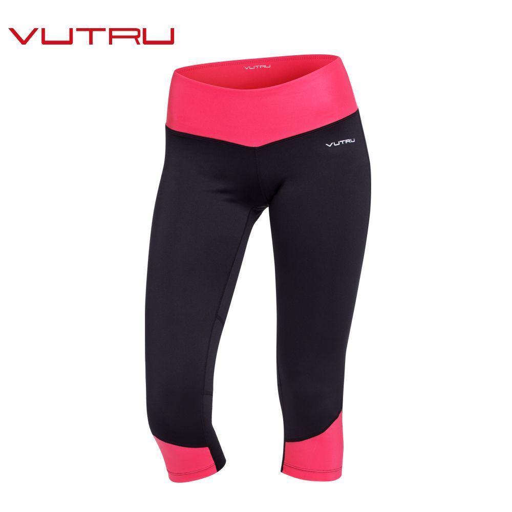 acheter Vutru Femmes Capri Pantalon Sport Yoga Pantalon Musculation  Collants Running Sport Remise En Forme Mince a229371f3bc