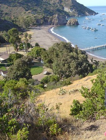 Girl Scout Camp White's Landing, Catalina island, CA by
