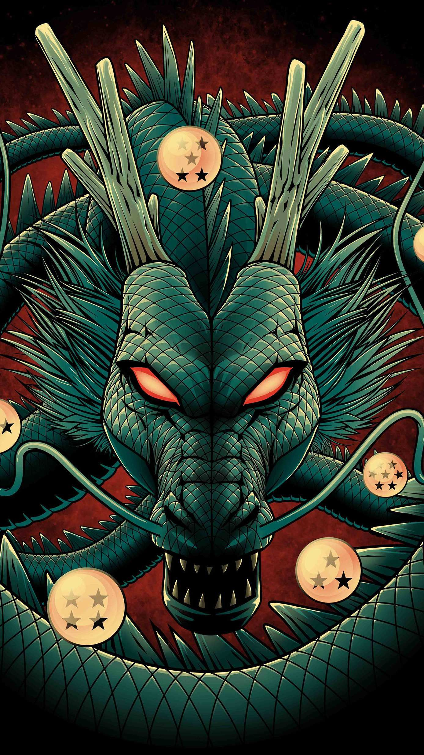 Dragon Ball Iphone Wallpaper Dragon Ball Artwork Anime Dragon