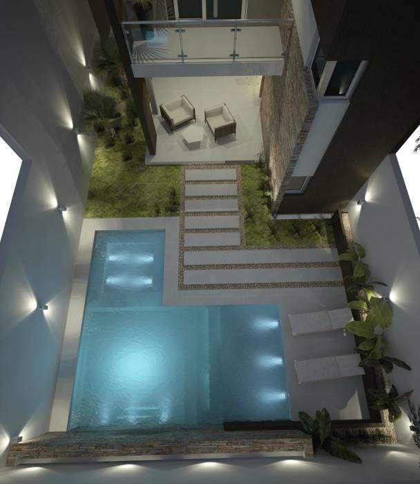 Imágenes de Decoración y Diseño de Interiores Small pools