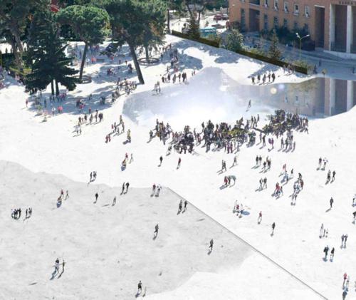 Skanderberg Square by 51N4E - render