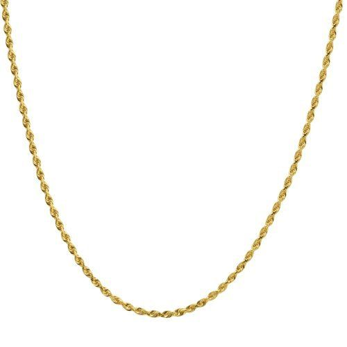 14K Yellow Gold Open Fancy Heart Round Cut Cubic Zirconia CZ Charm Pendant with 1.5mm Flat Open Wheat Chain Necklace