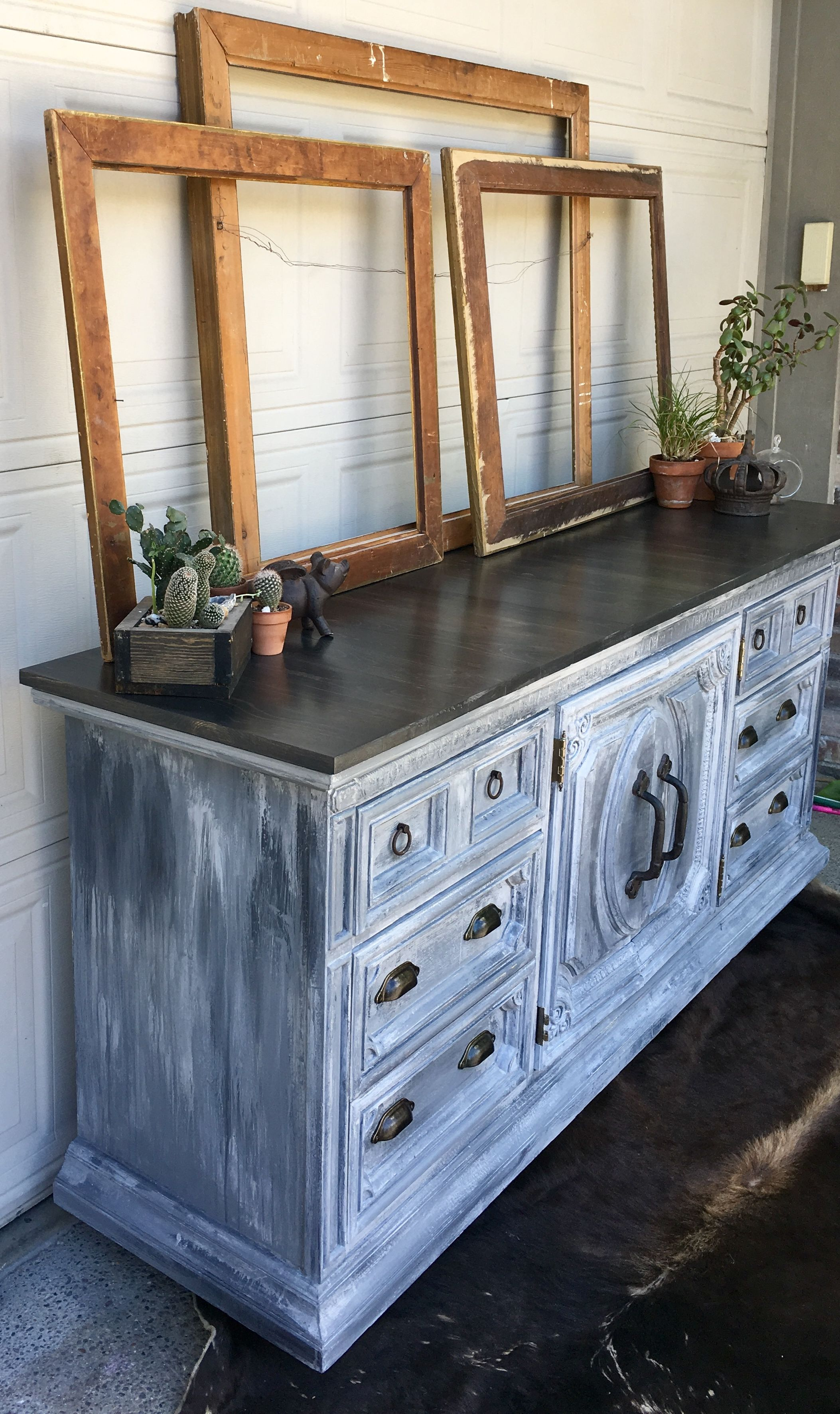 rustoleum chalk paint in 3 different colors were used to on industrial farmhouse paint colors id=48913