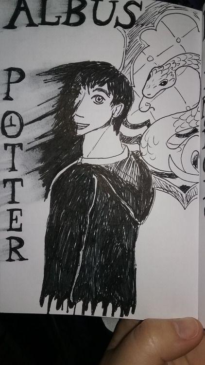 , Inktober day 23: Slytherin Originally I was...