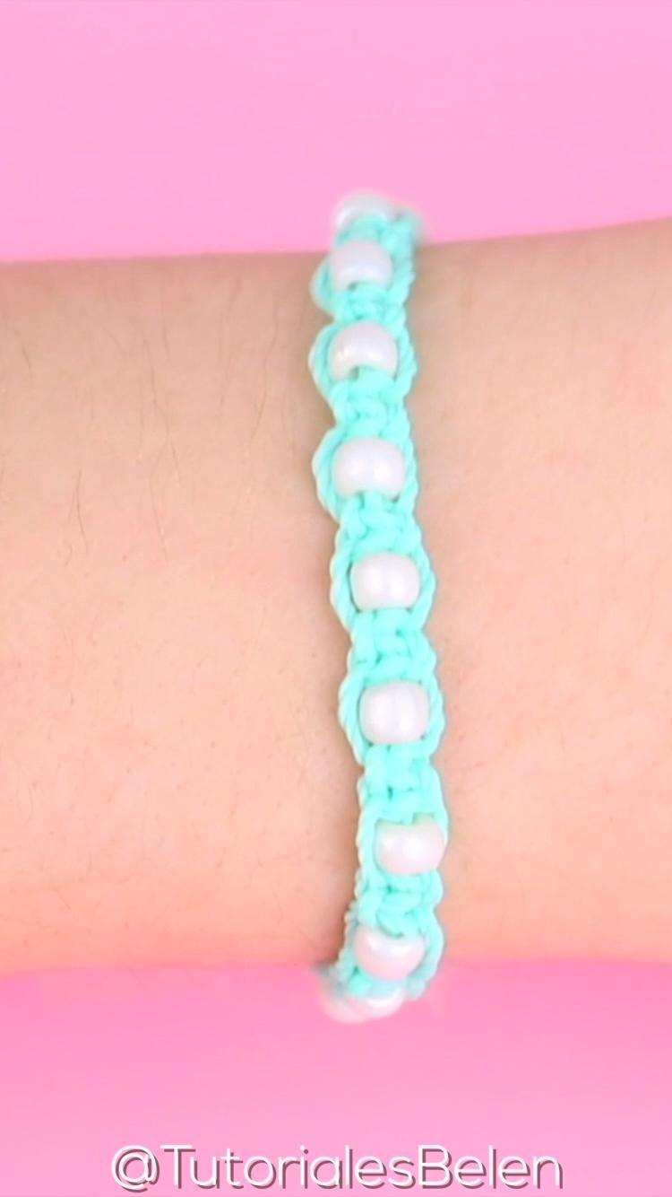 Pulseras de la amistad de hilo/ DIY friendship bracelets tutorial