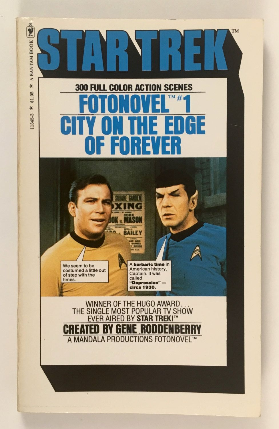 תוצאת תמונה עבור ‪star trek photo novels city on the edge of forever‬‏
