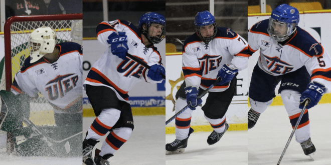 The conference champion UTEP Miners Hockey team added to