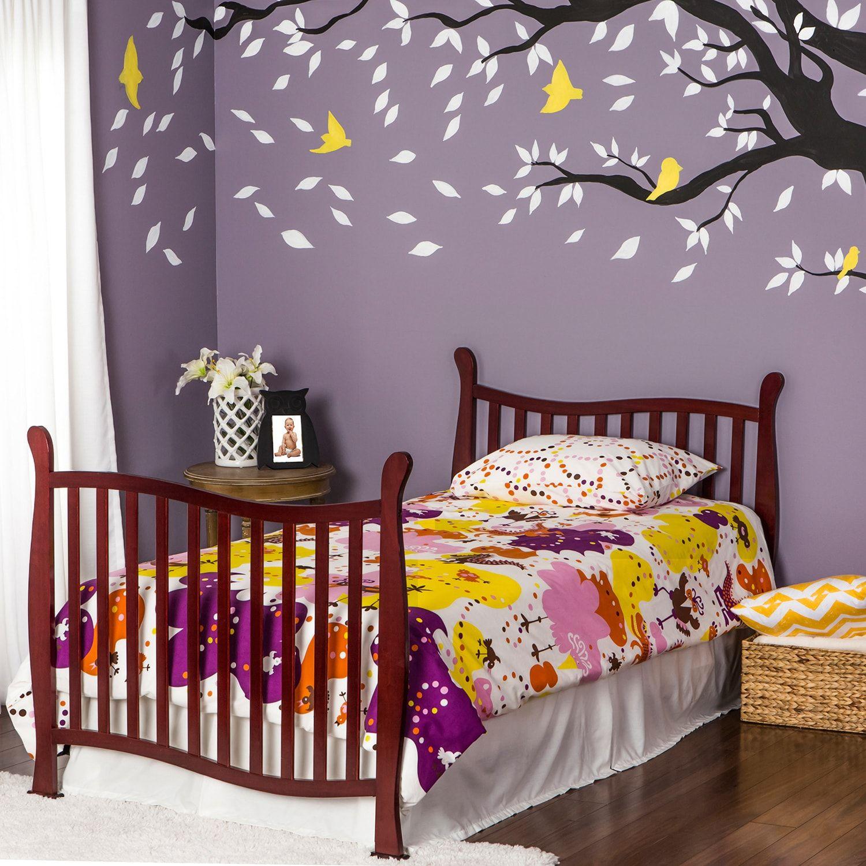 Dream On Me Violet 4 In 1 Convertible Mini Crib Violet Dream Convertible Crib In 2020 Mini Crib Cribs Best Crib