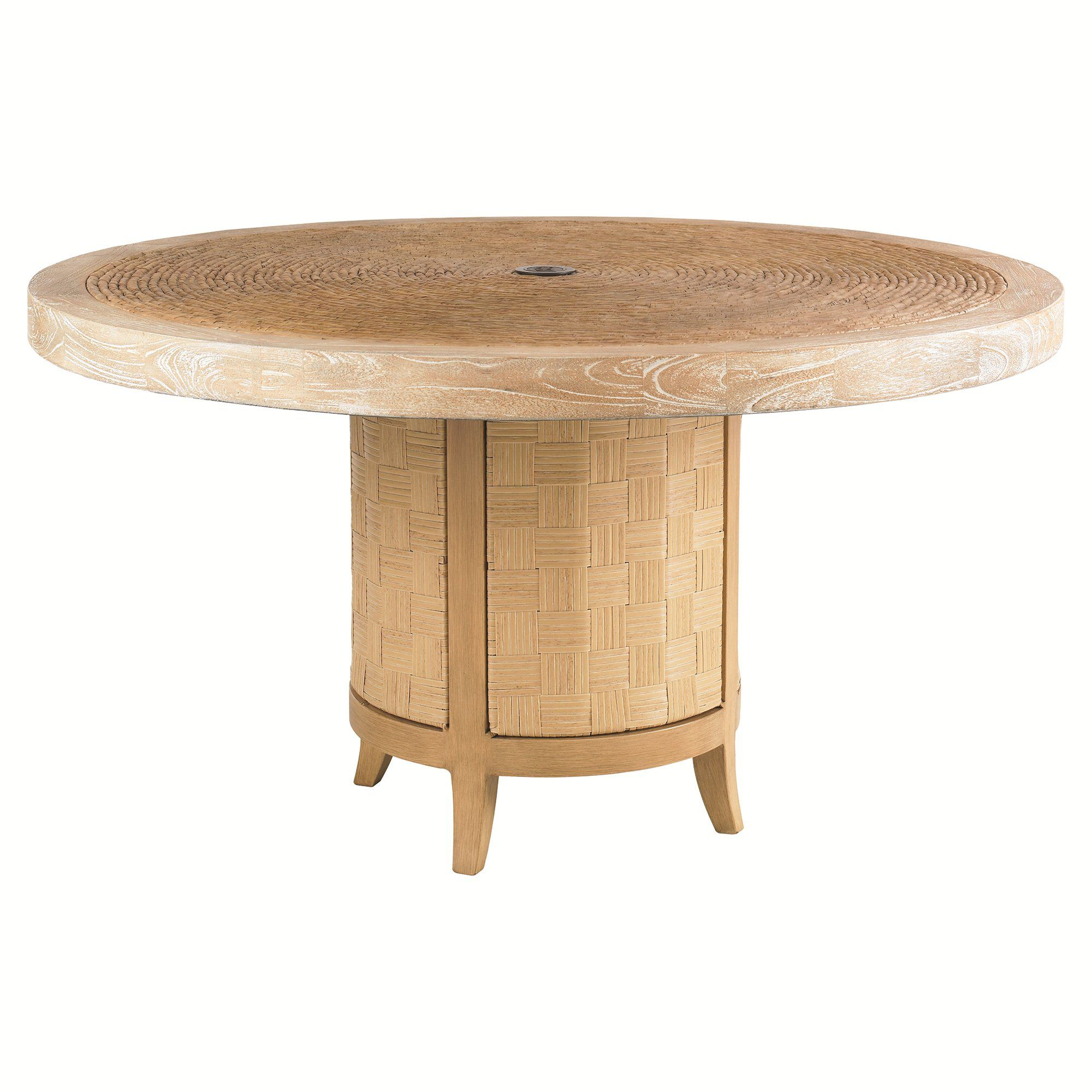"""Lexington Canberra Surf And Sand 54"""" Dining Table 3140-870"""