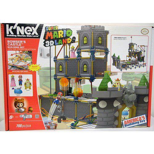 K Nex Super Mario Bowser S Castle Building Set Bowser