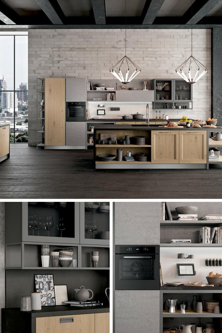 Accostamenti In Cucina cucina moderna dal design contemporaneo ed industriale