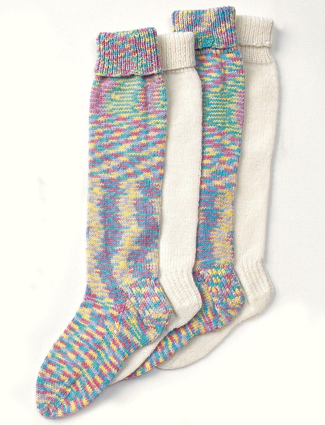 Yarnspirations.com - Patons Child\'s Long Stockings - Patterns ...