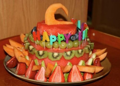 FatFree Vegan Birthday Cakes Fruit Cakes How to Make