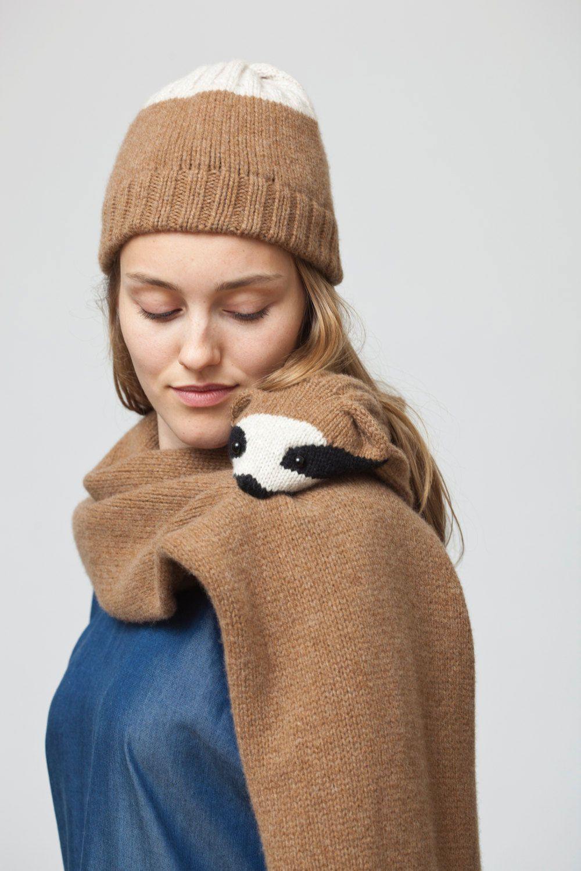 be5af57eb8d Animal Scarves by Nina Führer