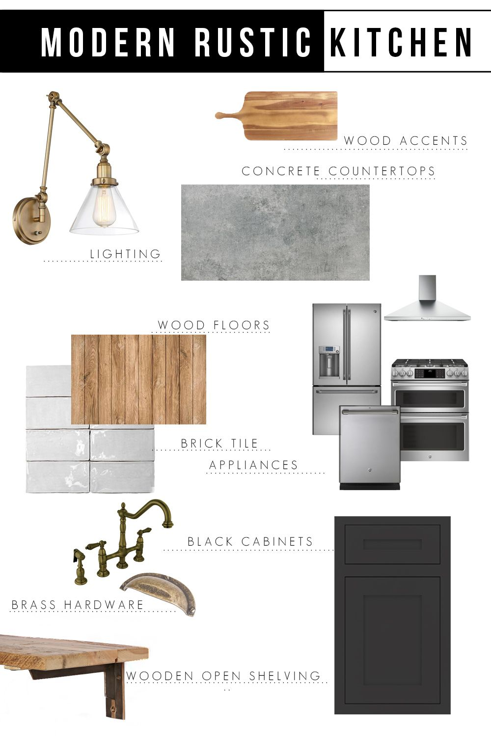 Modern Rustic Kitchen Design Inspiration - Cherished Bliss #rustickitchendesigns