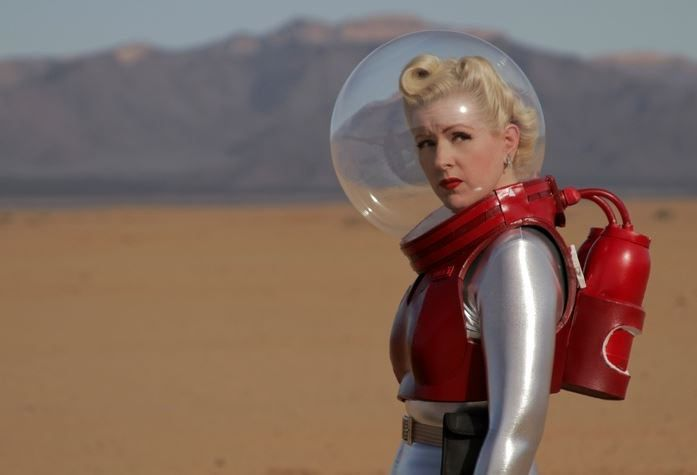 Image result for retro futurism cosplay