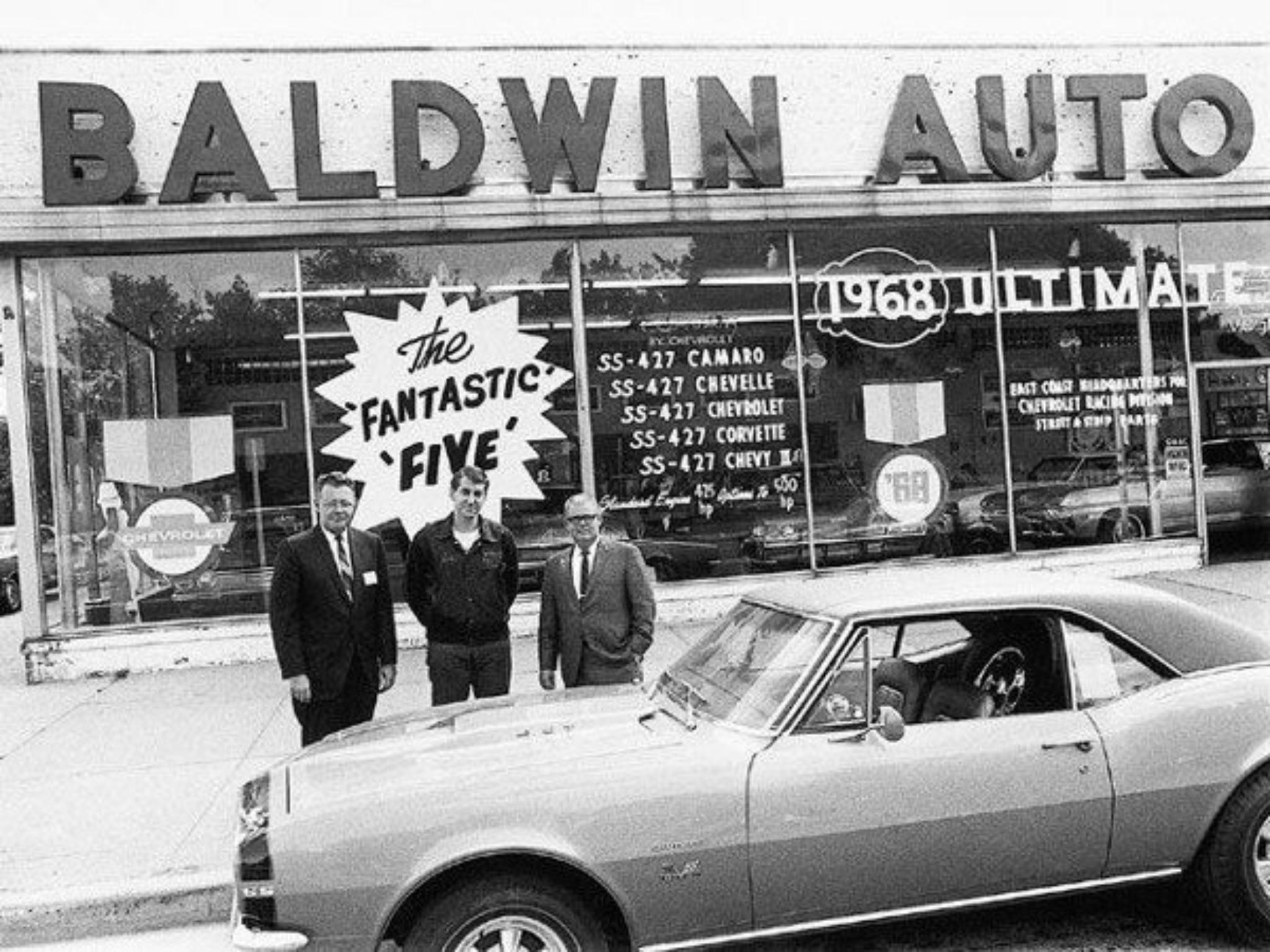 1968 Baldwin Chevrolet Dealership Baldwin New York Vintage Camaro Chevy Dealerships Camaro