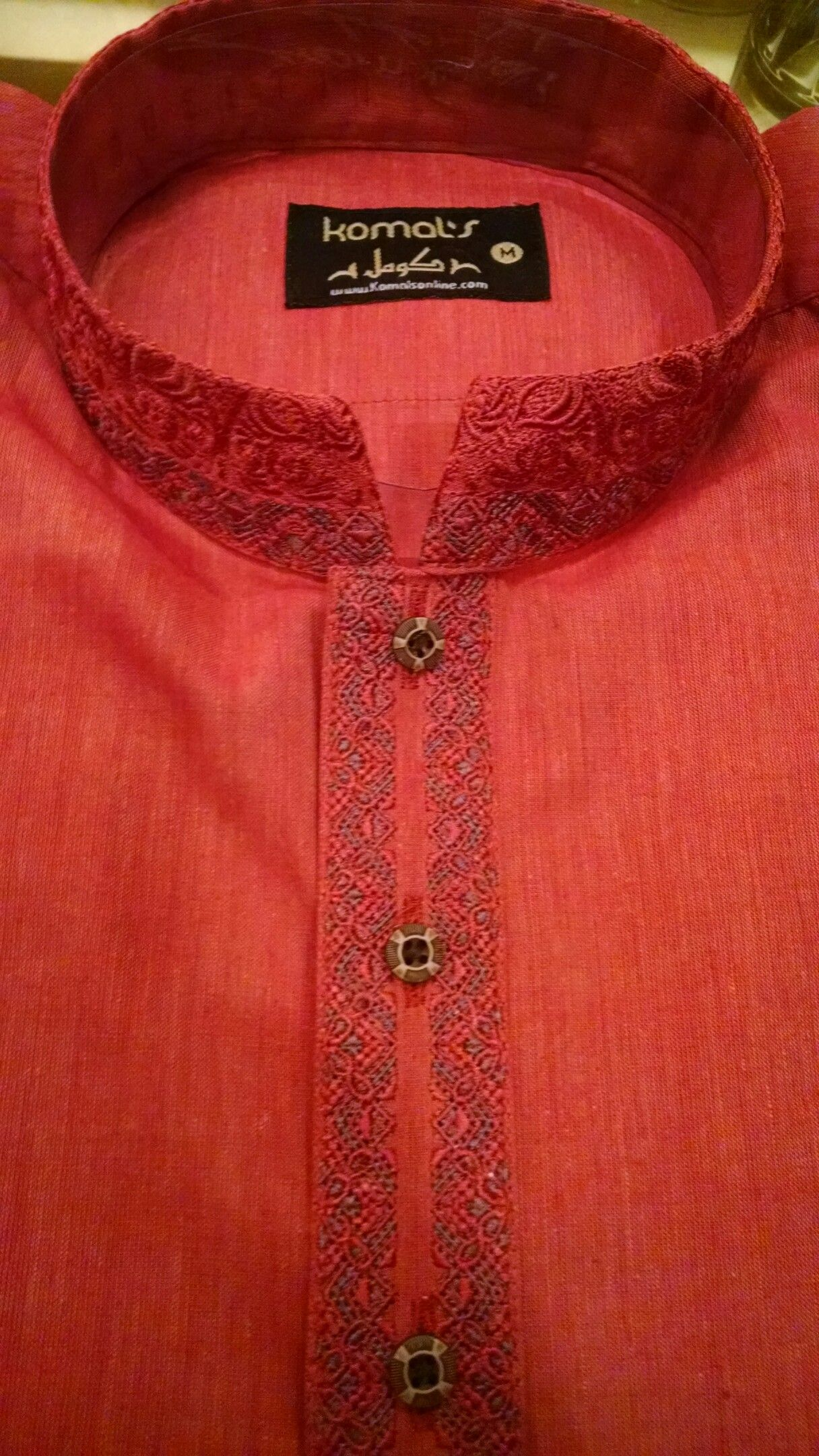 055768315c Men's kurta in khaddar material In 6 different colors and sizes ...
