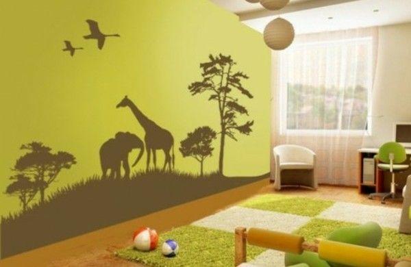 Dschungel Dekoration Im Kinderzimmer Afrika Stil Beach Cottage