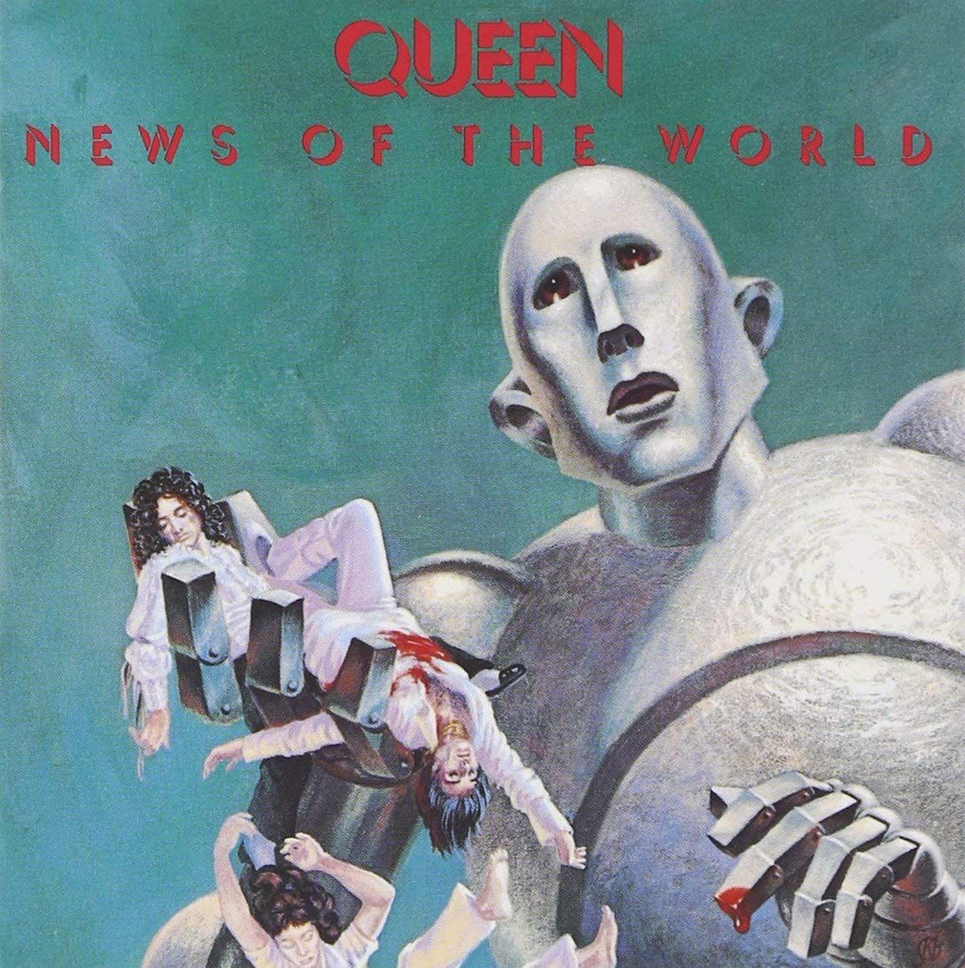 queen news of the world album cover - Google Search