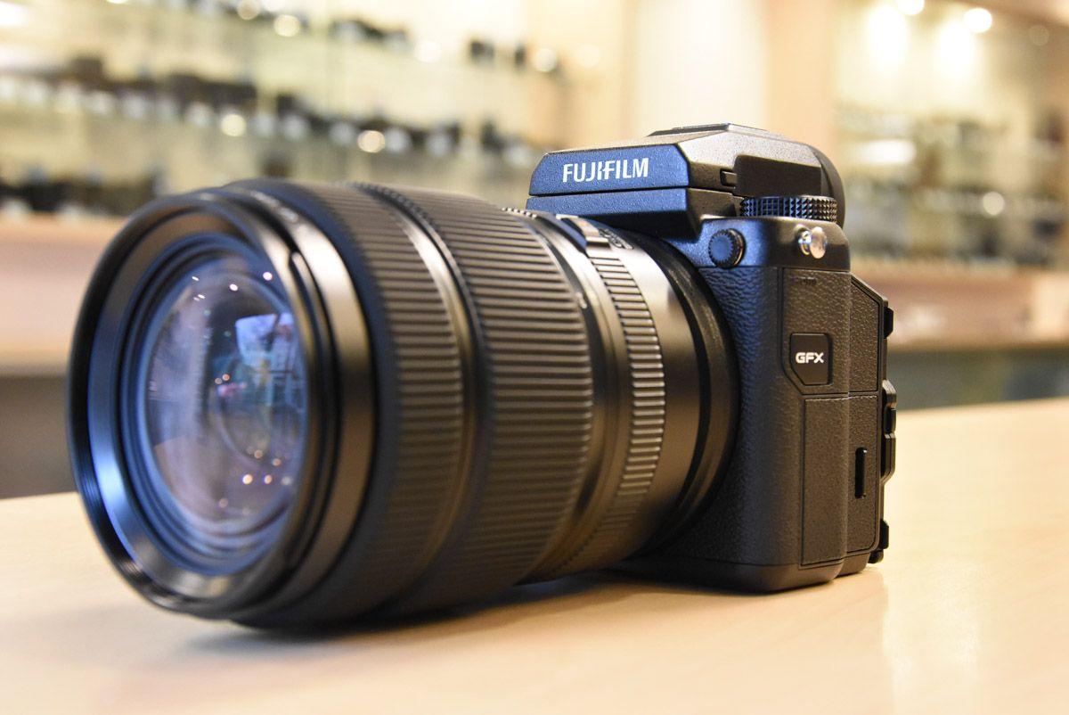 Fuji GFX 50S medium format digital camera now shipping, GFX unboxing photos, additional coverage | Photo Rumors