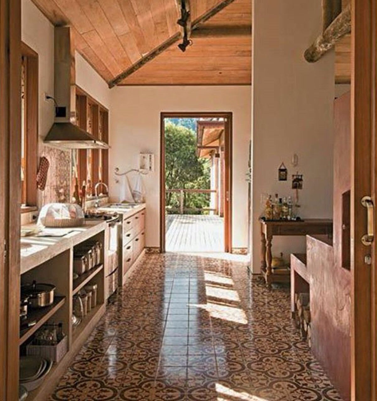 Cocina decoracion deco pinterest cocinas casas y campo for Cocinas rurales
