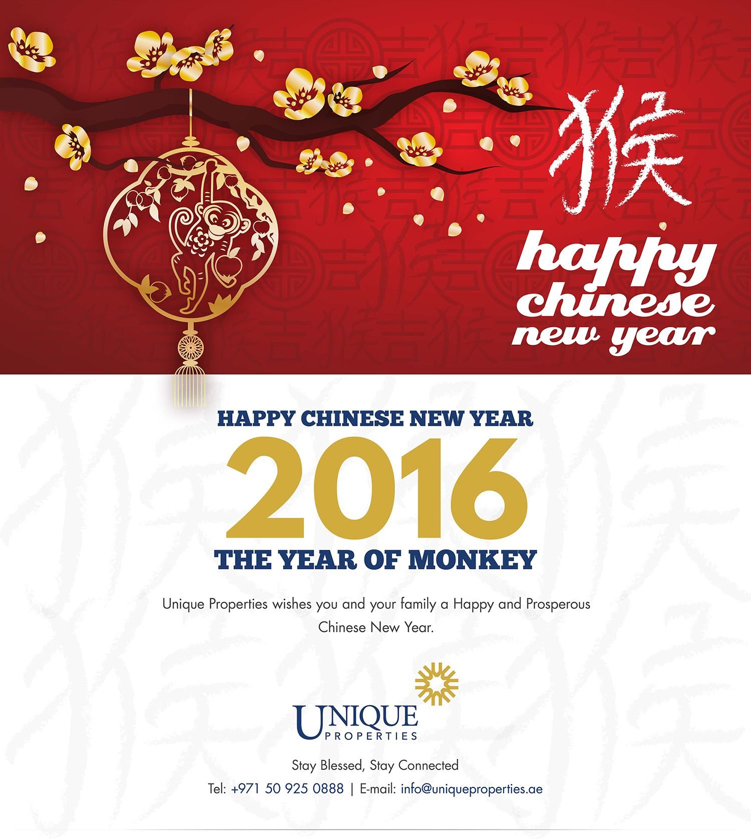Unique Properties wishes you and your family a Happy and ...