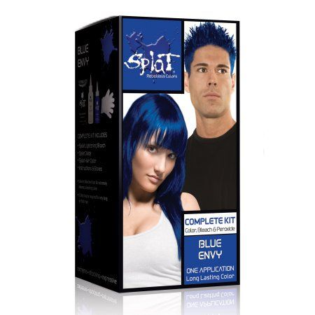 Beauty Semi Permanent Hair Dye Dyed Hair Blue Semi Permanent