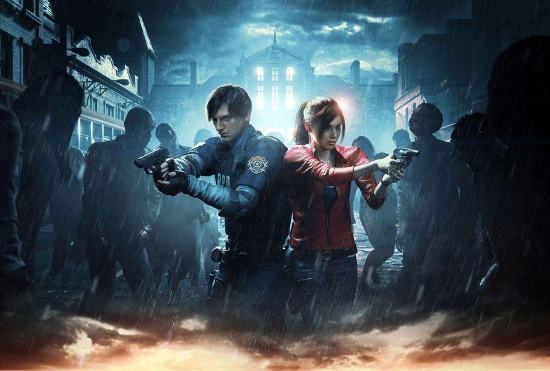 Resident Evil 2 2019 Game Hd Poster Wallpaper 2880x1800
